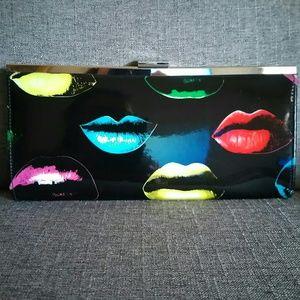 Lip Print Clutch